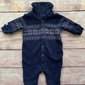 Ralph Lauren Winter Blue Bodysuit
